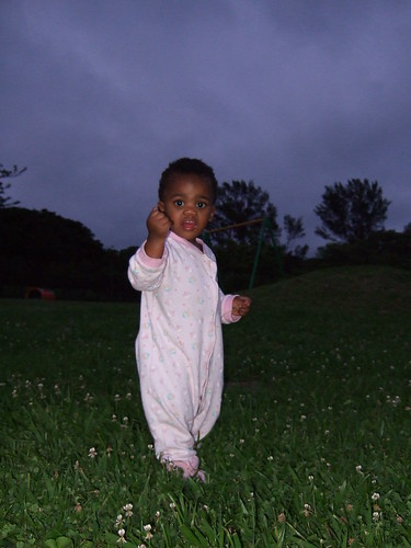 Thanda Taking An Evening Walk
