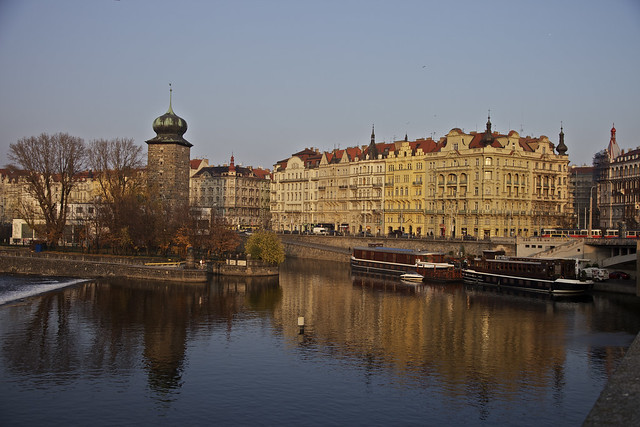 Autumn on the Vltava