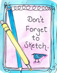 Dont forget to sketch 1