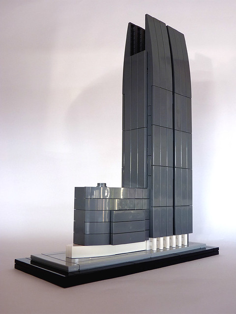 Modern Architecture Lego modern buildings ii - great lego architecture - a gallery on flickr
