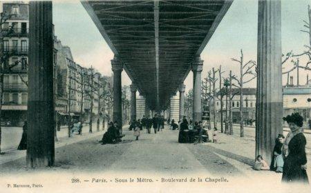 11l09 Marmuse_288_-_PARIS_-_Sous_le_Métro_-_Boulevard_de_la_Chapelle