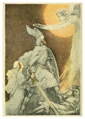 036- The tale of Lohengrin knight of the swan..1914 - ilustrado por Willy Pogany