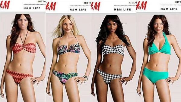 H&M CGI models