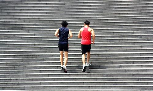 Jogging up
