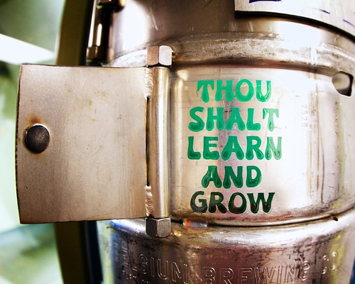 Thou Shalt Learn and Grow - a New Belgium core value