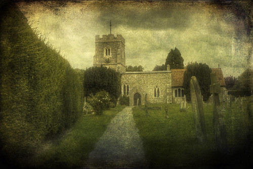 uk england tree texture church clouds unitedkingdom handheld stmaryschurch hdr graveley canon24105mm handheldhdr canon450d