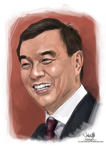digital portrait of Dr Winston Hwang
