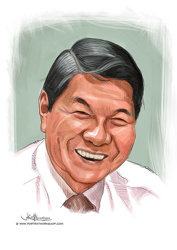 digital portrait of MSM-Koh Choon Hui