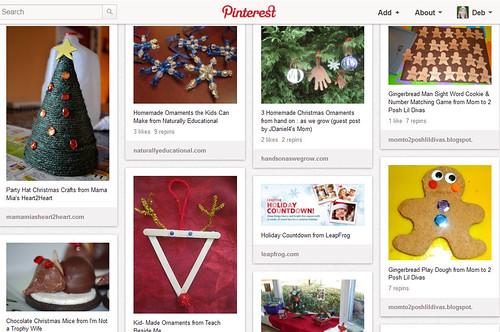 Pinterest - Kids' Christmas Activities