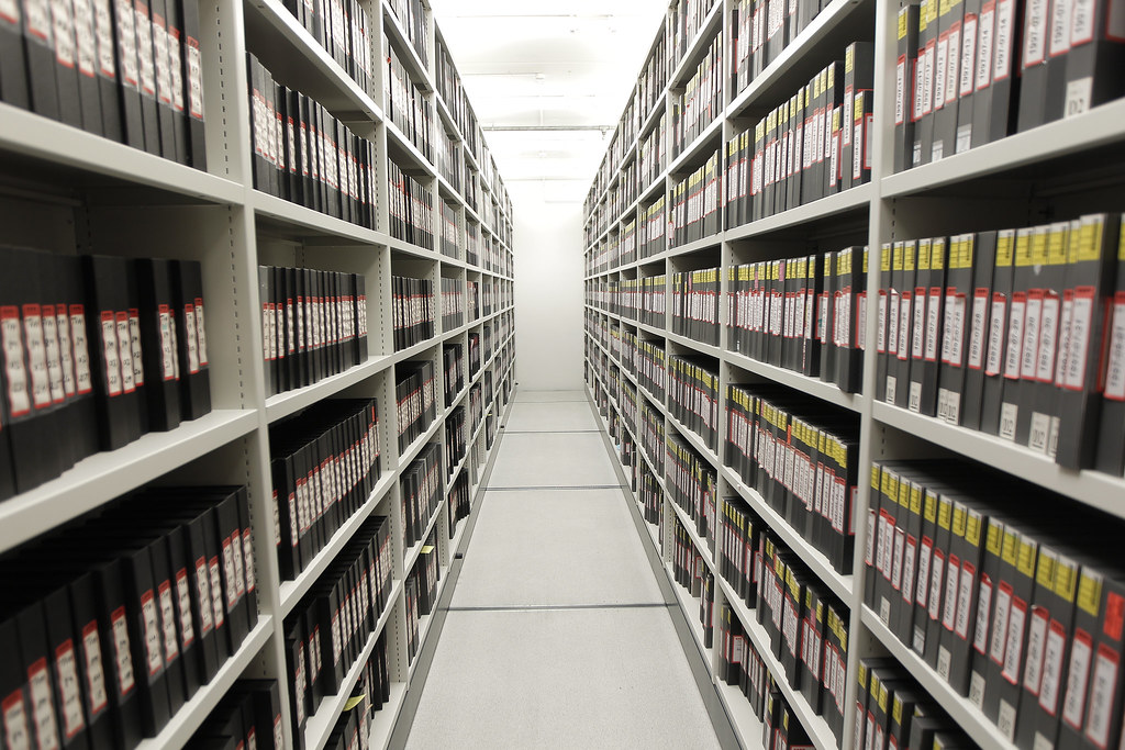 Video tape archive storage