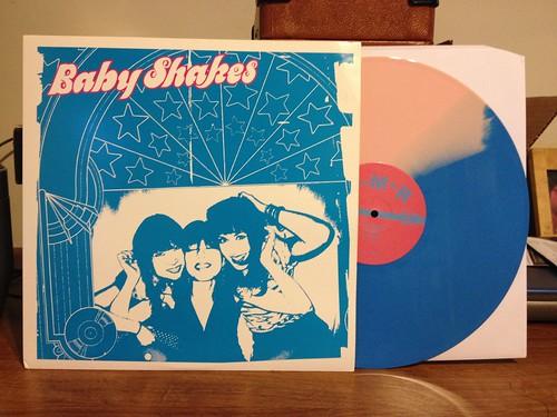 Baby Shakes - S/T LP - Blue/Pink Split Vinyl /100