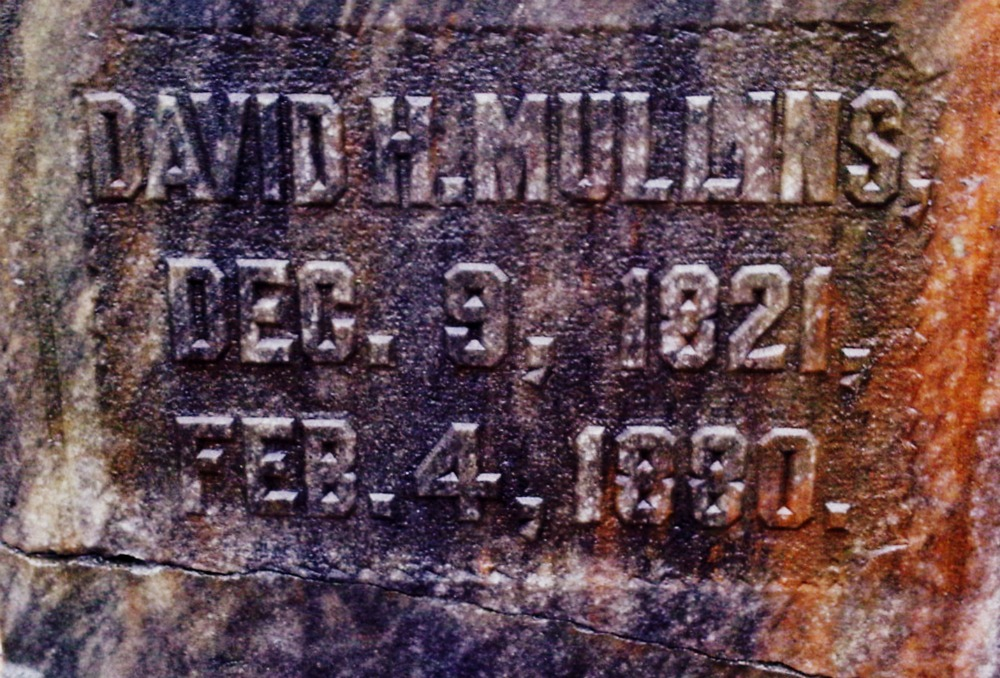 David H Mullins-Mullins Cemetery, Meriwether County, Ga