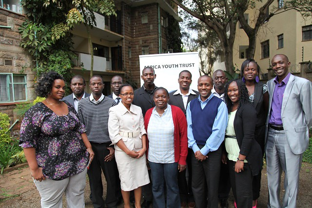 AYT staff and Network Members