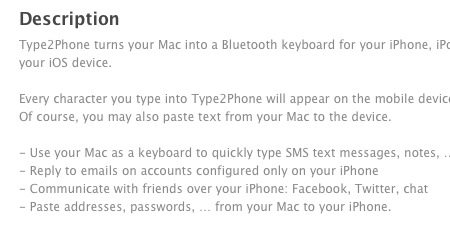 Mac App Preview description