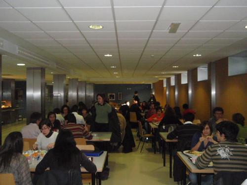 Zaragoza | Cafetería de la Facultad de Ciencias de la UZ | Interior