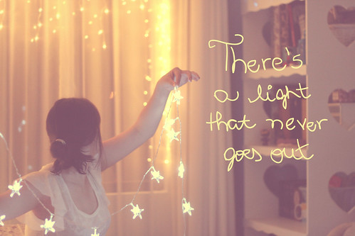 348/365 there's a light that never goes out ♥ by Honey Pie!