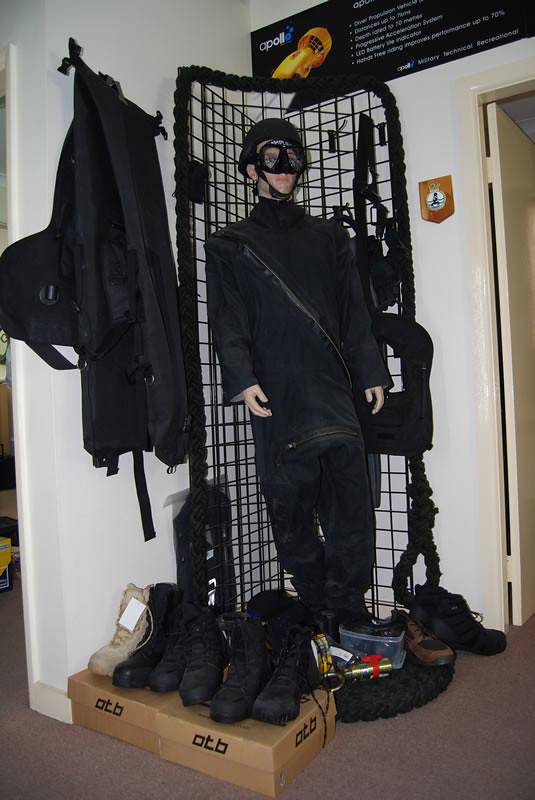 Military Scuba Gear