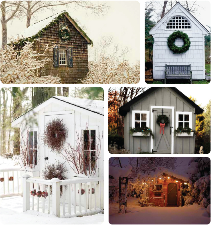 Holiday Sheds