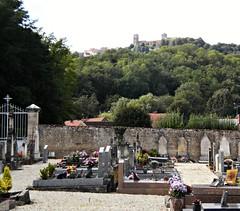 Village of Saint-Pere, Burgundy, France