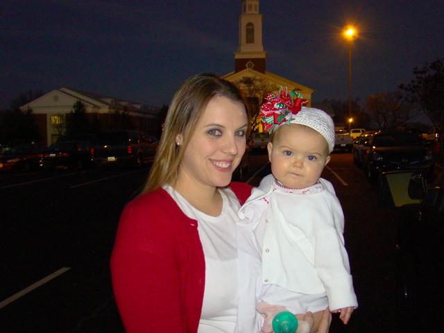 Megan & Ella  12-24-10