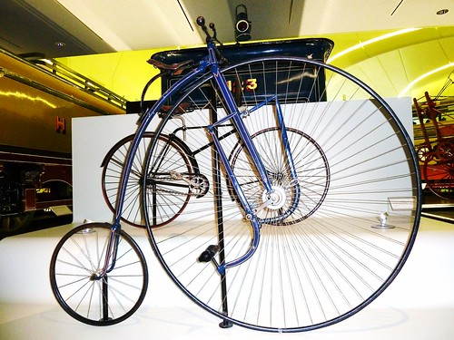 Penny Farthing Bicycle, Riverside Museum