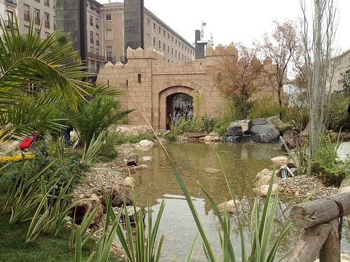 Belén de Navidad en Zaragoza