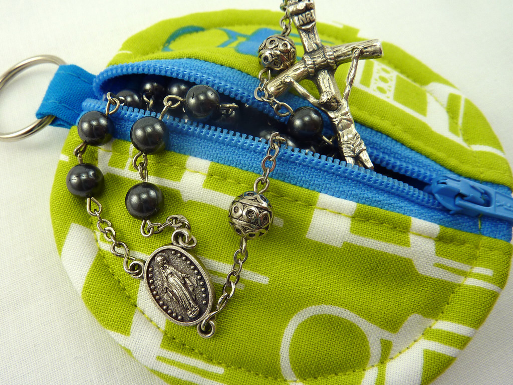 rosary pouch