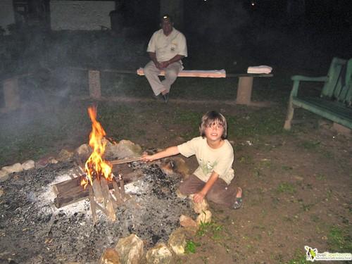 kid friendly camp ground belize