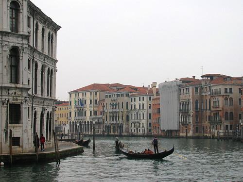 Góndola en el Canal Grande