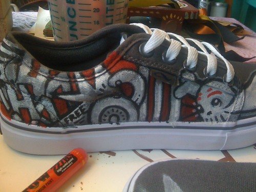 Dancing Shoes: Custom Paint