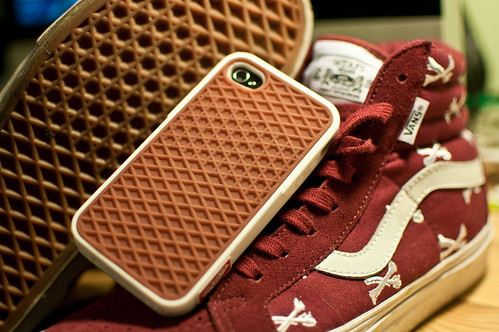 the latest 08939 f54ac iPhone Savior: Vans Waffle Sole Case Is A Shoe For Your iPhone