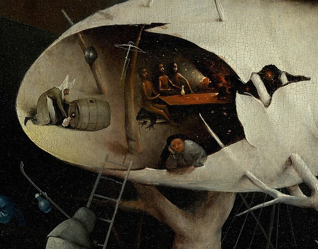 B Hieronymus Bosch The Garden Of Earthly Delights Hell 1490 1510 Detail Flickr