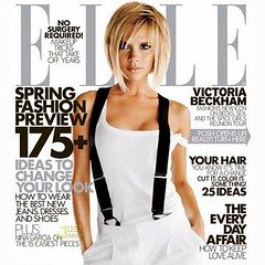 Victoria Beckham Posh Elle suspenders drollgirl
