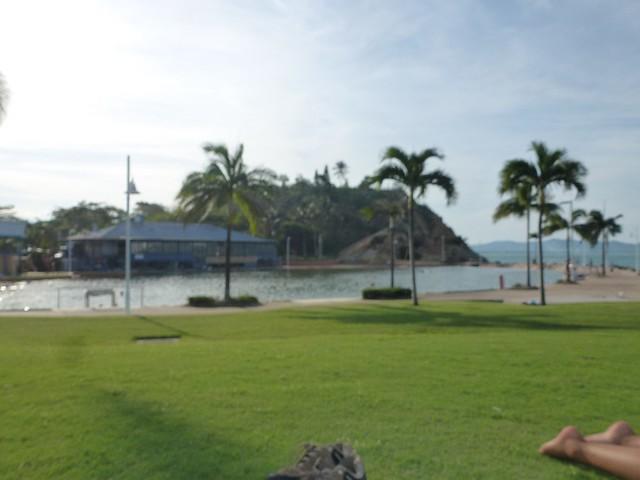 Townsville's artificial lagoon