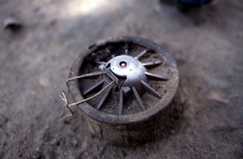 Landmine in Angola