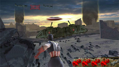 Captain America free spins