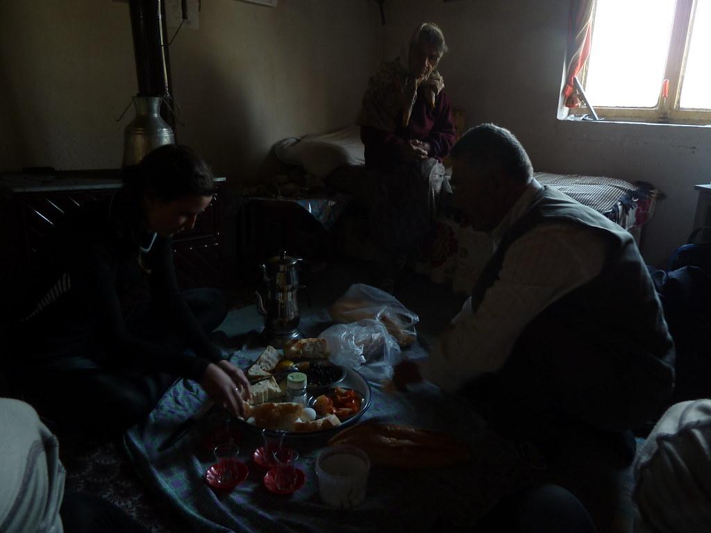 Esmorzar a casa l'Ömer, Sevindikli (Turquia)