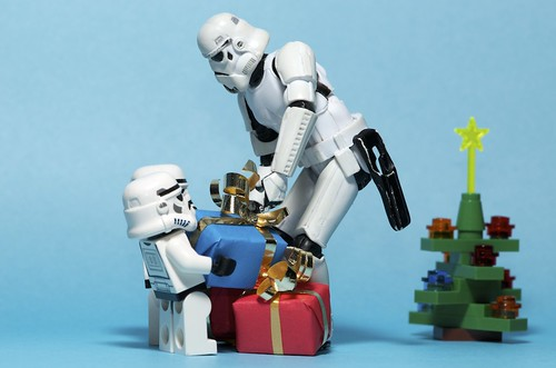 A christmas delivery from Santa on the Death Star