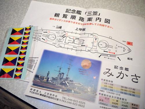 記念艦「三笠」案内図