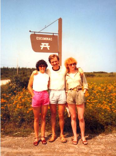 Escuminac herrian, Kanadan, 1984an