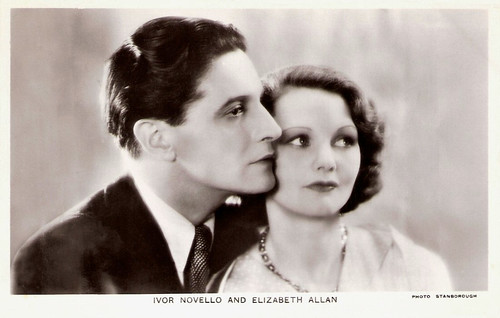 Ivor Novello and Elizabeth Allan in The Lodger (1932)