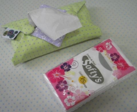 porta lenços de bolso by Panos e Contas