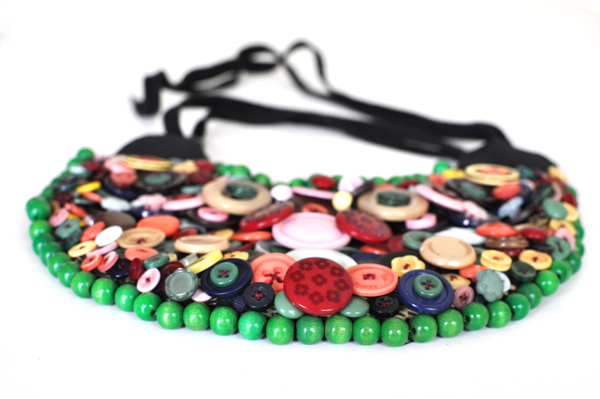 Kazzthespazz.com | handmade neck piece