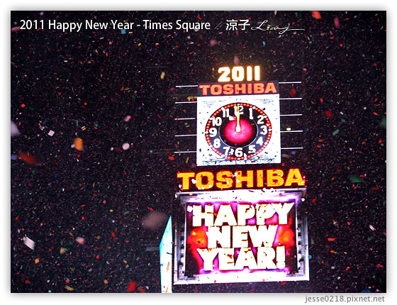2011 Happy New Year - Times Square 9