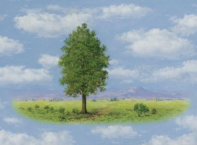 [ M ] René Magritte - Le Territoire (1956)