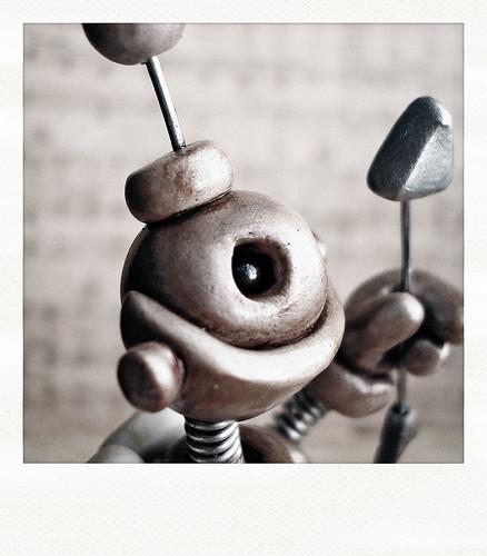 Sneak Peek | Little Robot on a mission by HerArtSheLoves