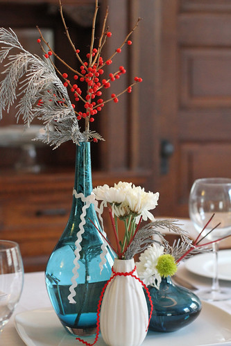 Holiday Tablescape by Deucecities Henhouse