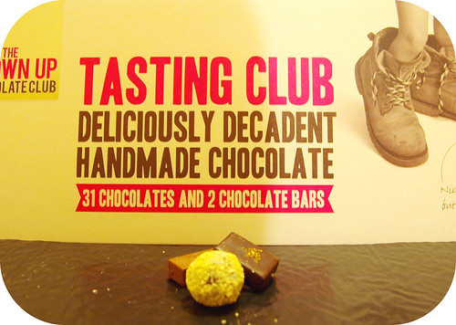 The Grown Up Chocolate Company Tasting Selection