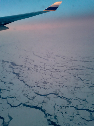 Flight over Iceland