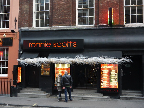 Ronnie Scott's - Frith Street, Soho by Yekkes